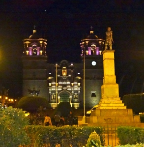 Puno town square