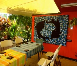 Binna's studio