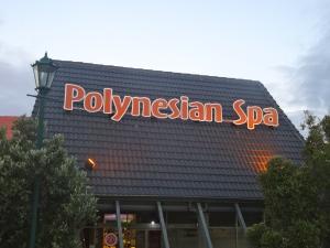 Polynesian Spa in Rotorua.