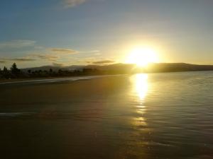 Sunset in Pohara, Golden Bay