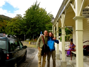 Tato and Vincent in Arrowtown