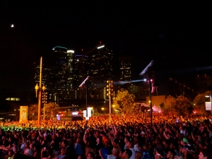 Concert at Grand Park, Downtown Los Angeles