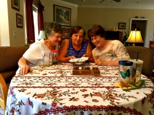 Tuesday afternoon, local Orangeburg area card club (Canasta is the game)