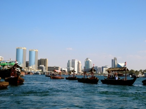 Abras on the Dubai Creek