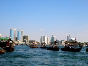 Abras on the Dubai Creek