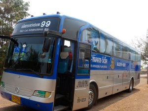 The bus to Vang Vieng.