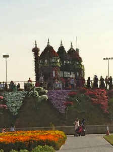 The Miracle Garden -  holds the record in Guinness Book of Records for having the longest wall of flowers
