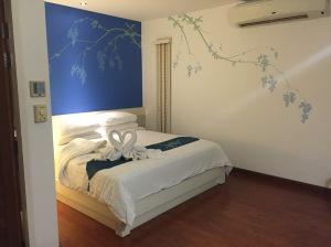 Bussaba Bangkok hotel room.