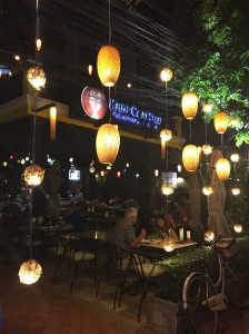 Restaurant and lounge in Vientiane.