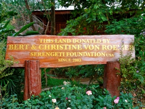 Donors of the land for Elephant Nature Park.