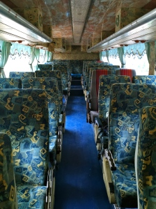 VIP Bus from Vang Vieng to Luang Prabang, Laos.
